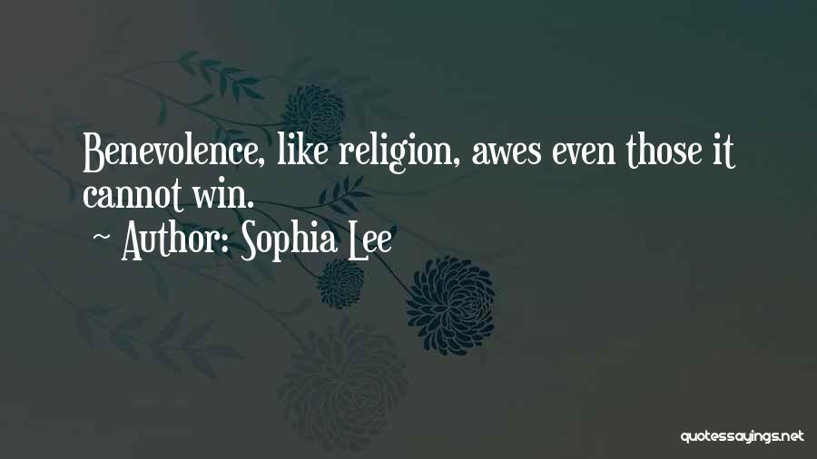 Sophia Lee Quotes 705007