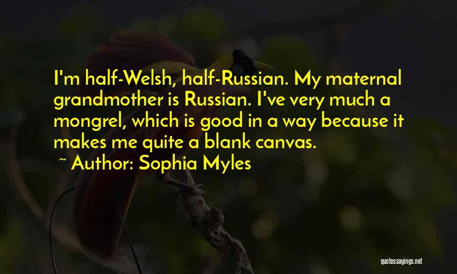 Sophia Myles Quotes 930710