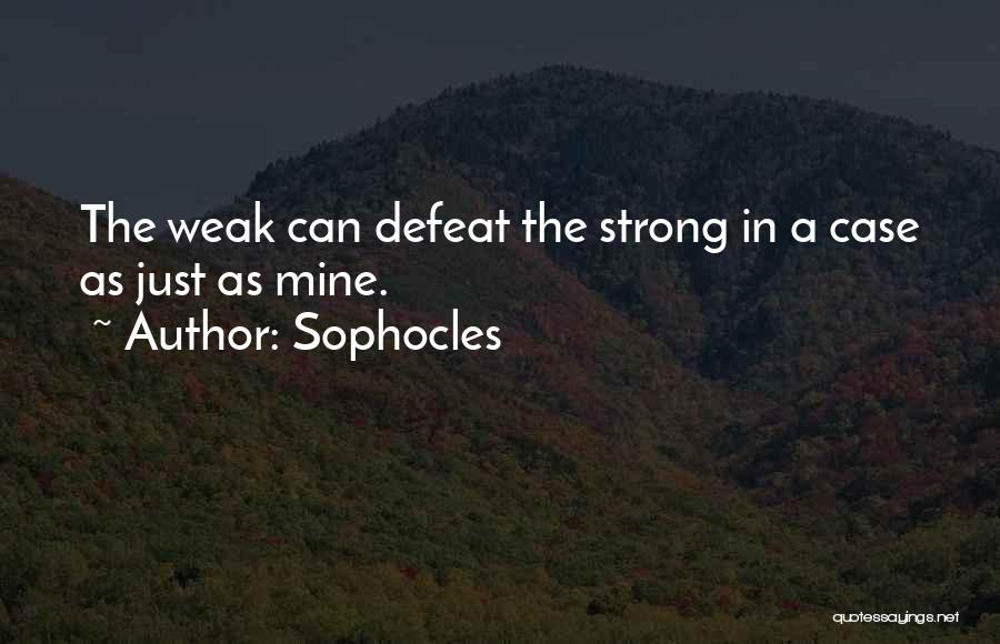 Sophocles Quotes 1678651