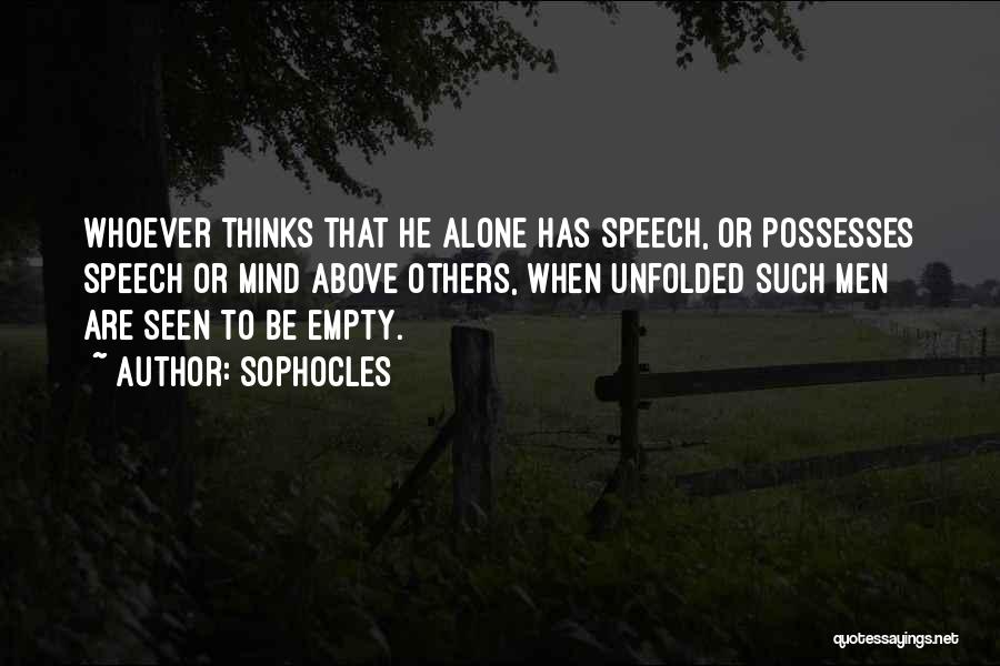 Sophocles Quotes 1927735
