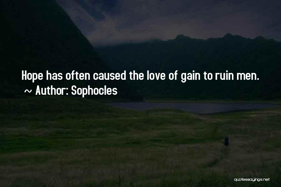 Sophocles Quotes 1965915