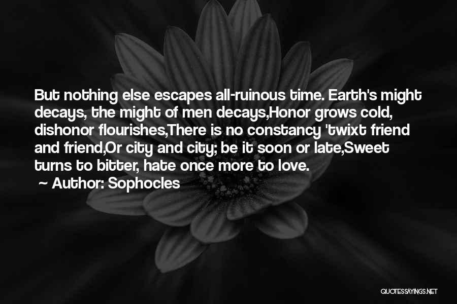 Sophocles Quotes 404595