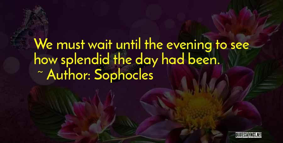 Sophocles Quotes 673984