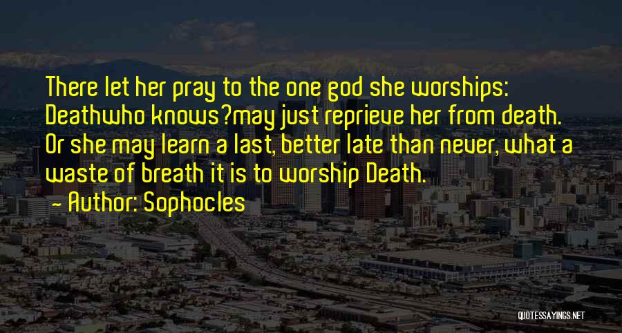 Sophocles Quotes 787696