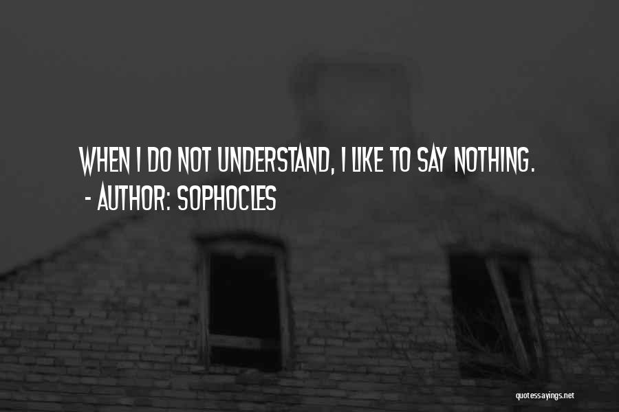 Sophocles Quotes 819617