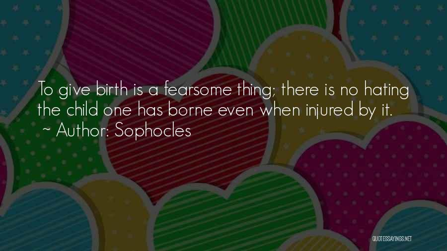 Sophocles Quotes 910639