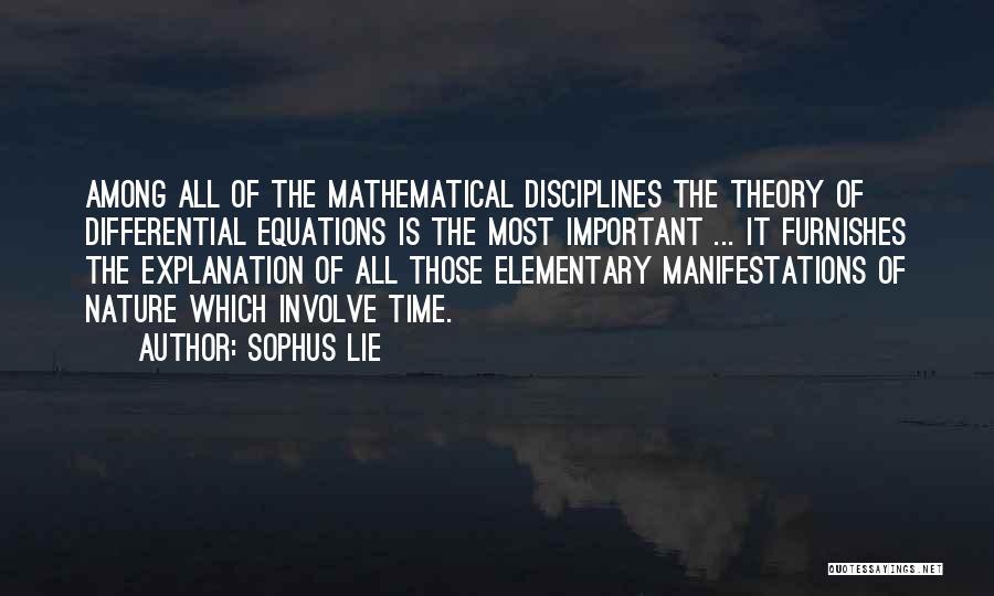 Sophus Lie Quotes 2042161