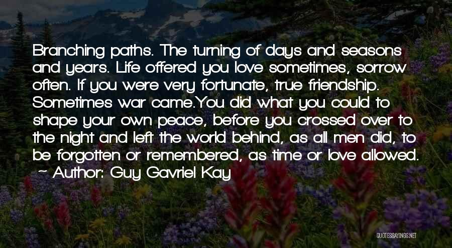 Sorrow And Friendship Quotes By Guy Gavriel Kay