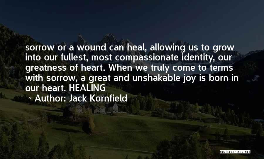 Sorrow And Healing Quotes By Jack Kornfield