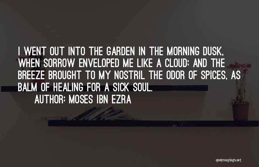 Sorrow And Healing Quotes By Moses Ibn Ezra