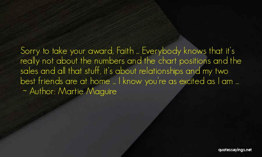 Sorry About That Quotes By Martie Maguire