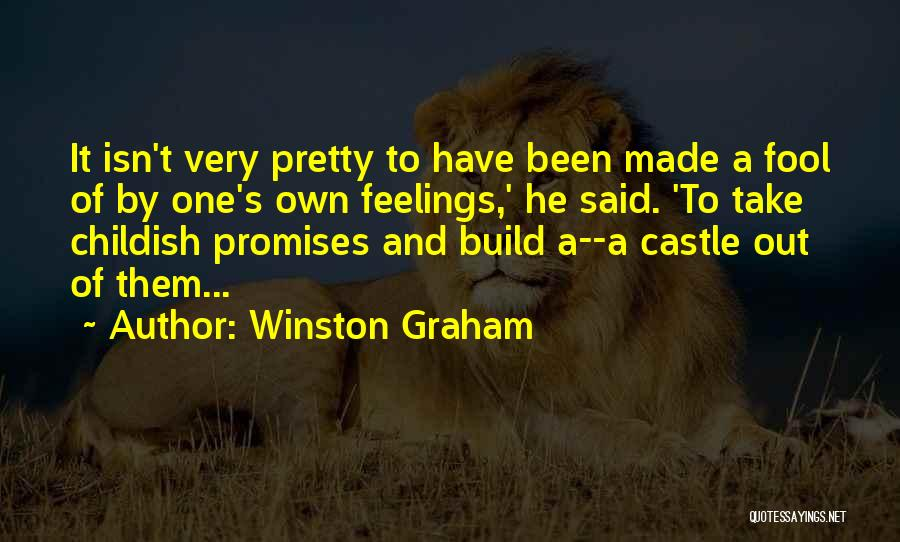 Sorry For Broken Promises Quotes By Winston Graham