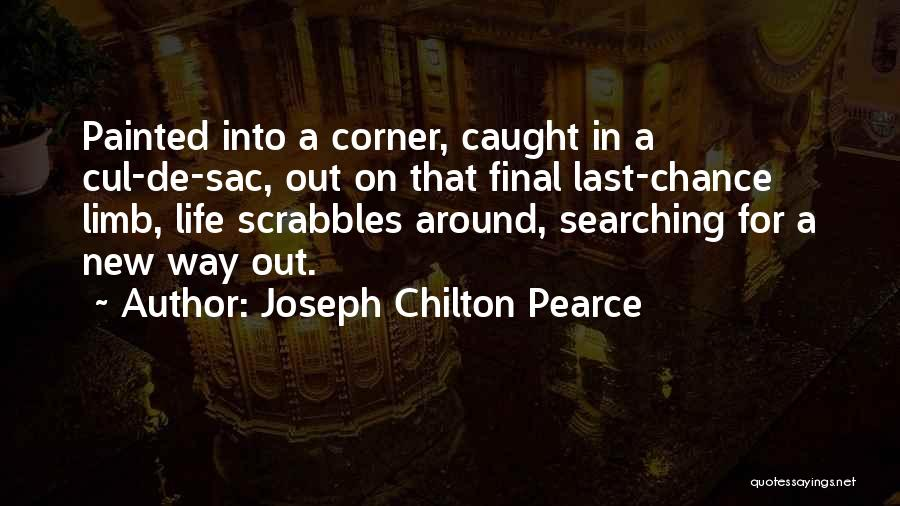 Sorry Last Chance Quotes By Joseph Chilton Pearce
