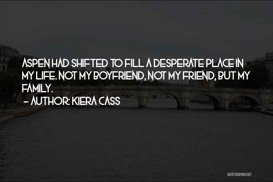 Sorry To Boyfriend Quotes By Kiera Cass