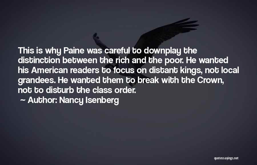 Sorry To Disturb U Quotes By Nancy Isenberg