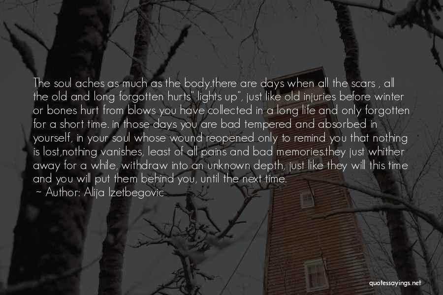 Soul Aches Quotes By Alija Izetbegovic