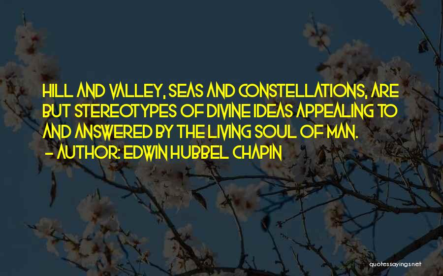 Soul And Nature Quotes By Edwin Hubbel Chapin