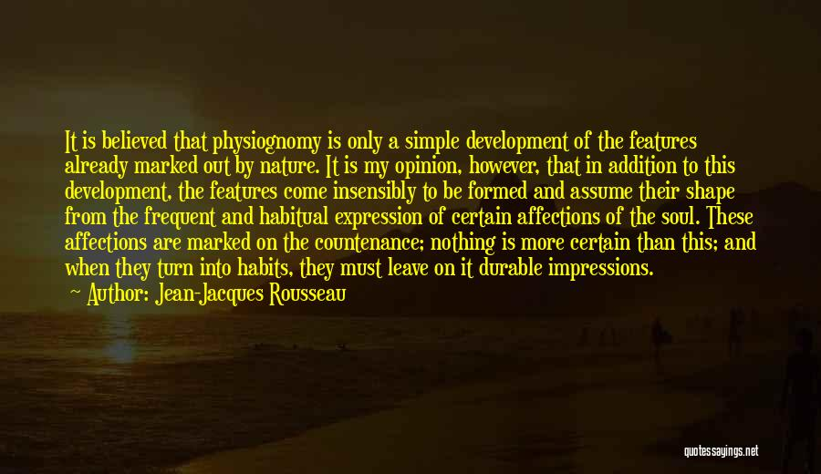 Soul And Nature Quotes By Jean-Jacques Rousseau