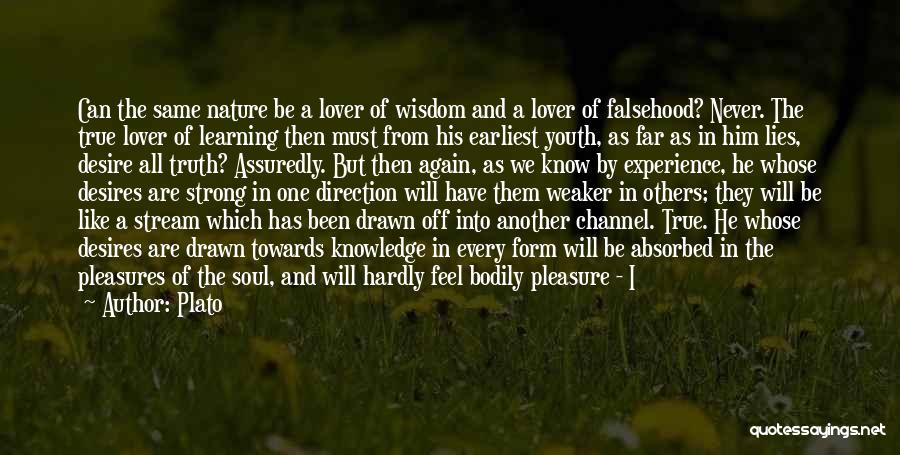 Soul And Nature Quotes By Plato
