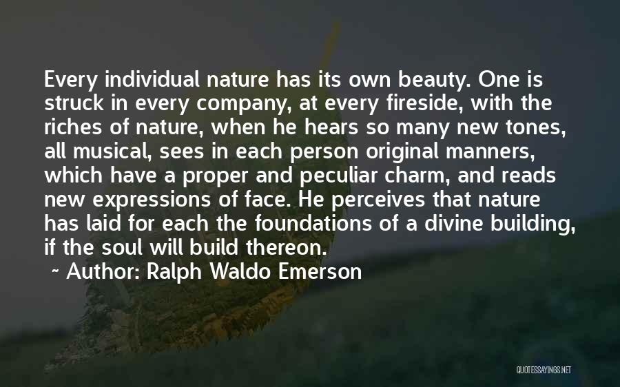 Soul And Nature Quotes By Ralph Waldo Emerson