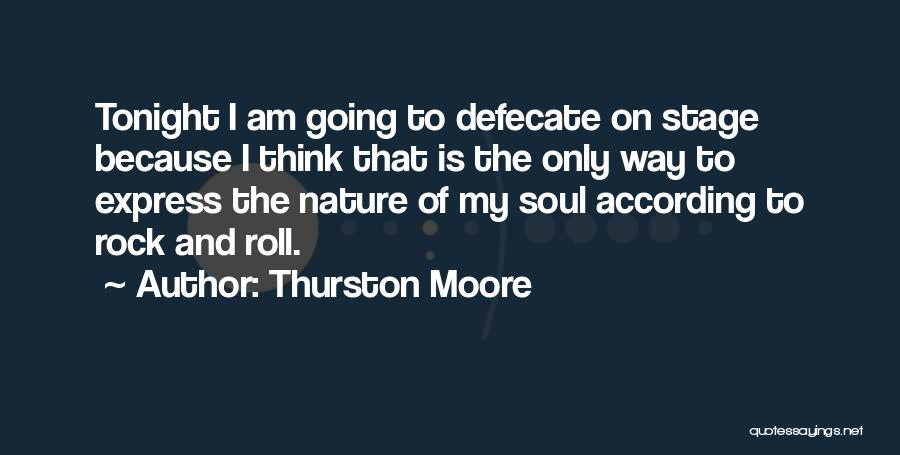 Soul And Nature Quotes By Thurston Moore