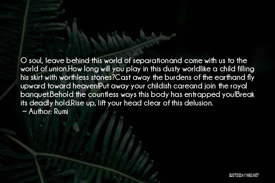 Soul Filling Quotes By Rumi