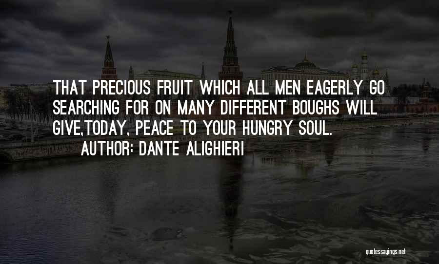 Soul Searching Quotes By Dante Alighieri