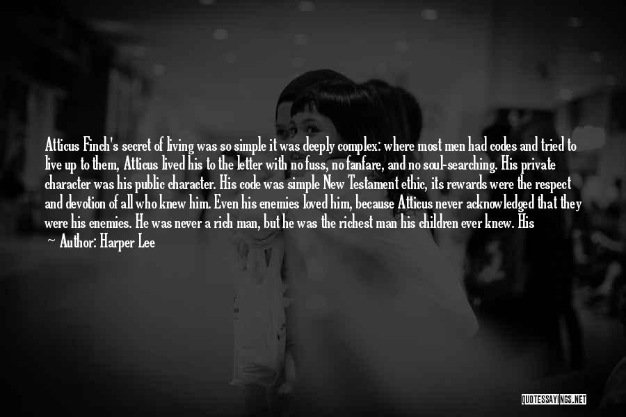 Soul Searching Quotes By Harper Lee