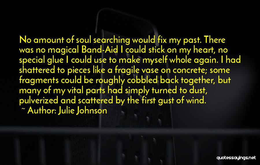 Soul Searching Quotes By Julie Johnson