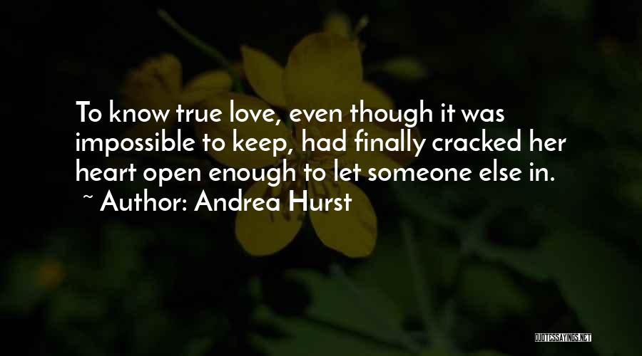 Soulmate Love Quotes By Andrea Hurst