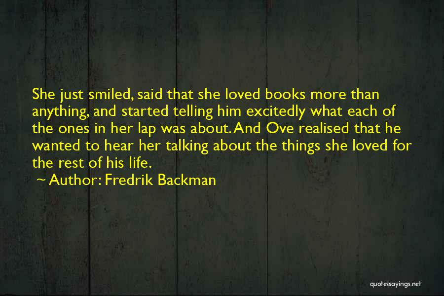 Soulmate Love Quotes By Fredrik Backman