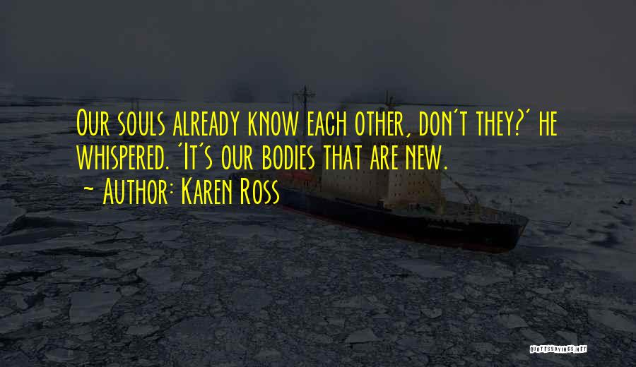 Soulmate Love Quotes By Karen Ross