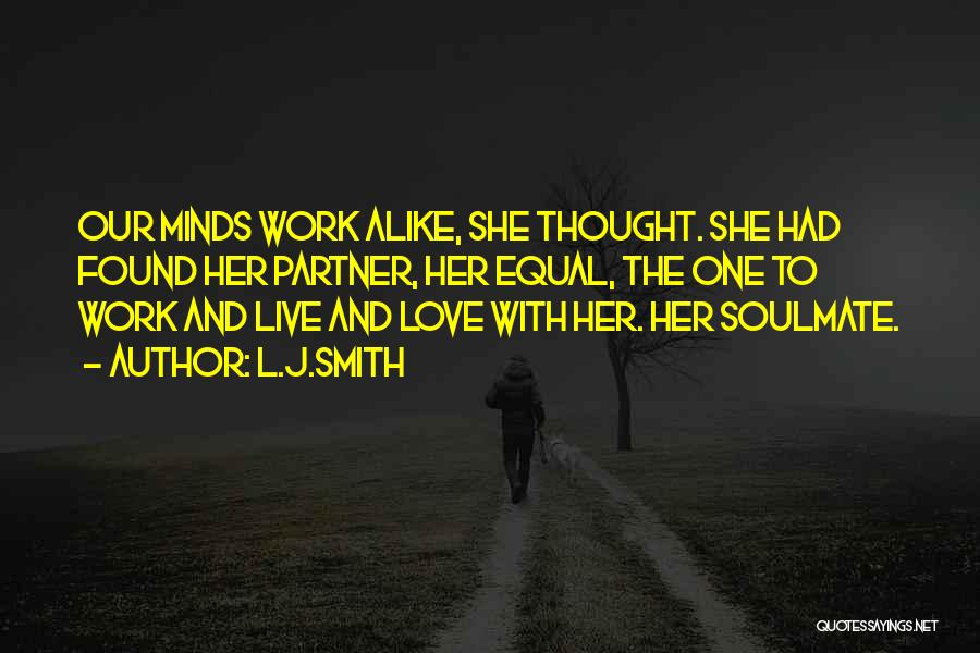 Soulmate Love Quotes By L.J.Smith