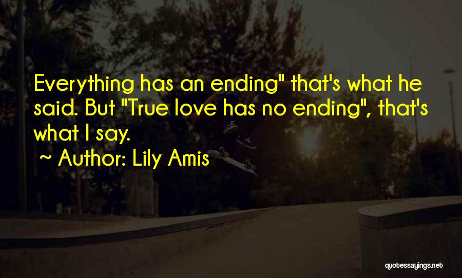 Soulmate Love Quotes By Lily Amis