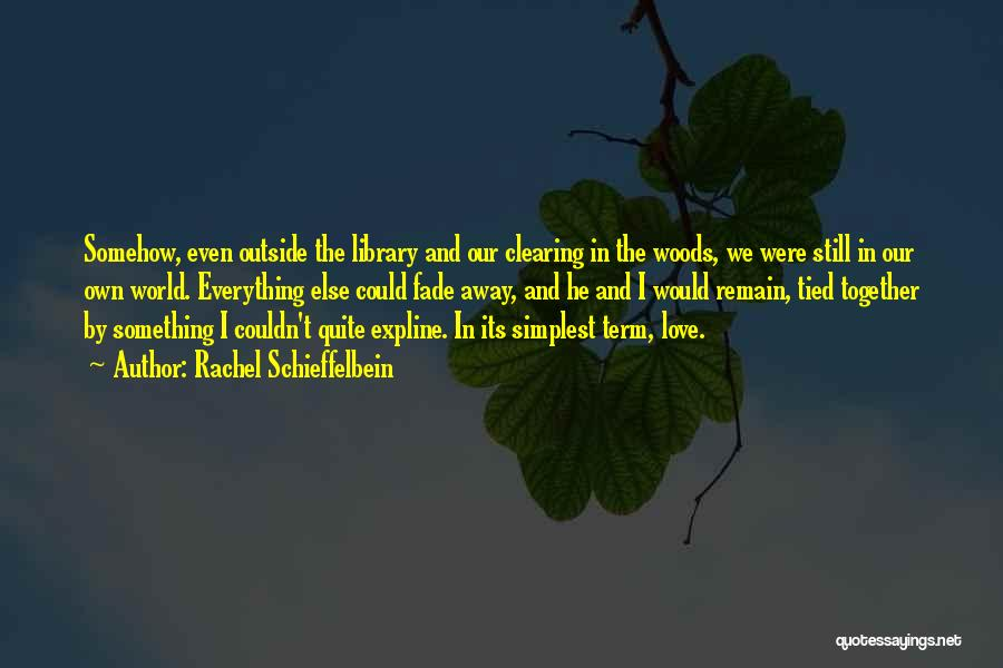 Soulmate Love Quotes By Rachel Schieffelbein