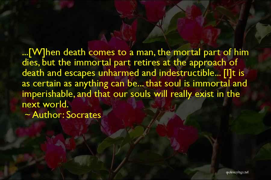 Souls After Death Quotes By Socrates