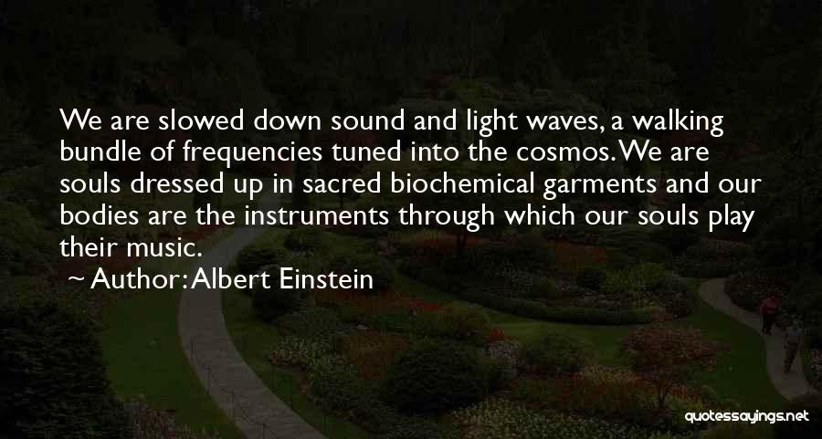 Souls And Bodies Quotes By Albert Einstein