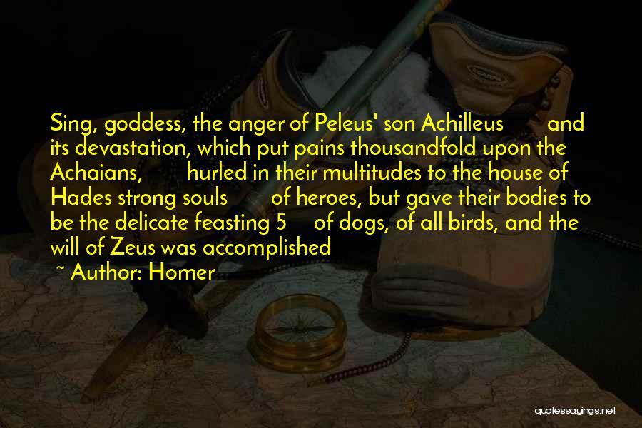 Souls And Bodies Quotes By Homer