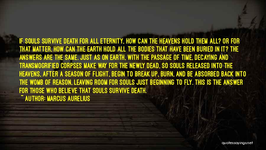 Souls And Bodies Quotes By Marcus Aurelius