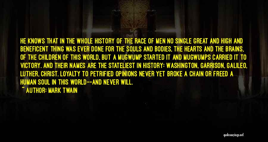 Souls And Bodies Quotes By Mark Twain