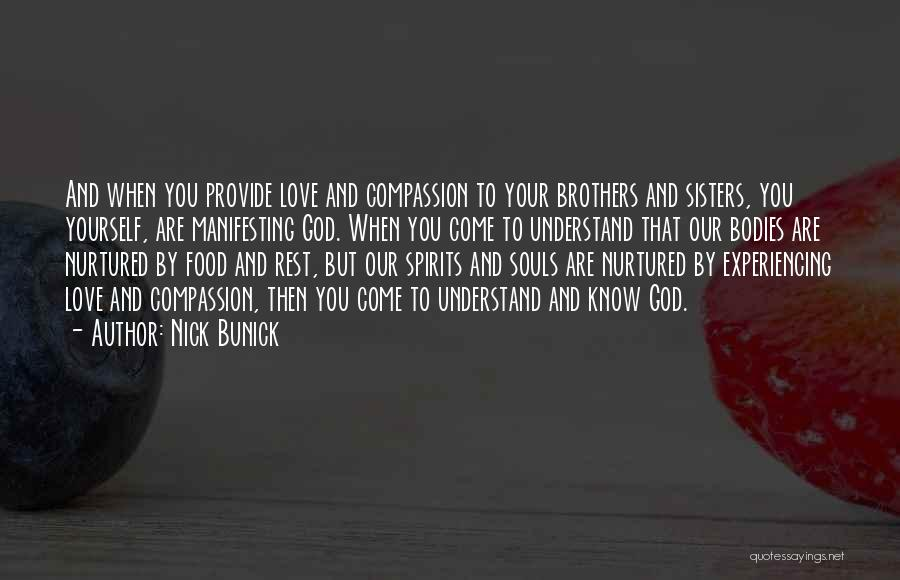 Souls And Bodies Quotes By Nick Bunick
