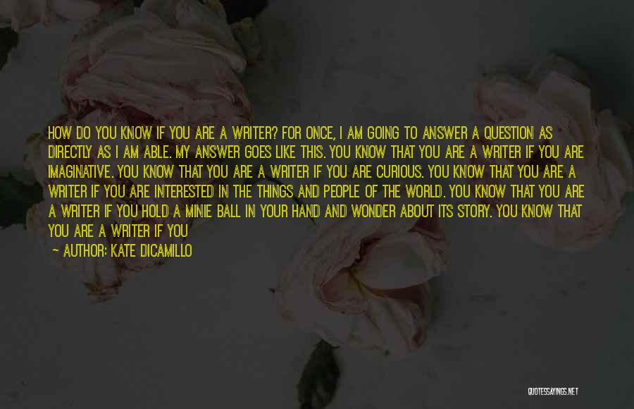Sound Of Thunder Quotes By Kate DiCamillo