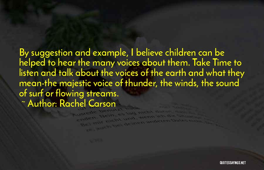 Sound Of Thunder Quotes By Rachel Carson