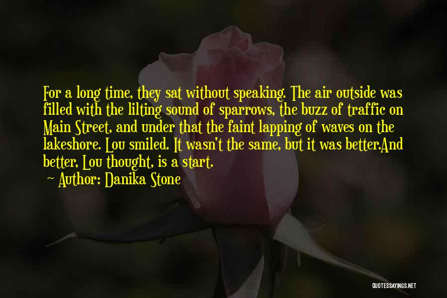 Sound Of Waves Love Quotes By Danika Stone