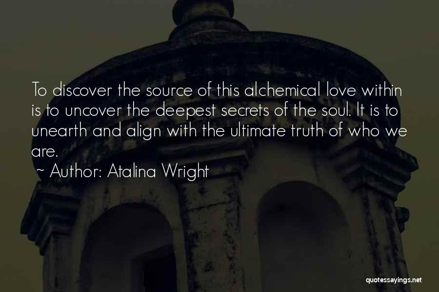 Source Of Insight Quotes By Atalina Wright