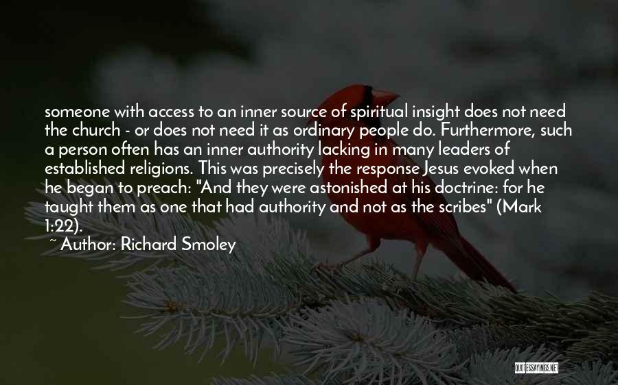 Source Of Insight Quotes By Richard Smoley