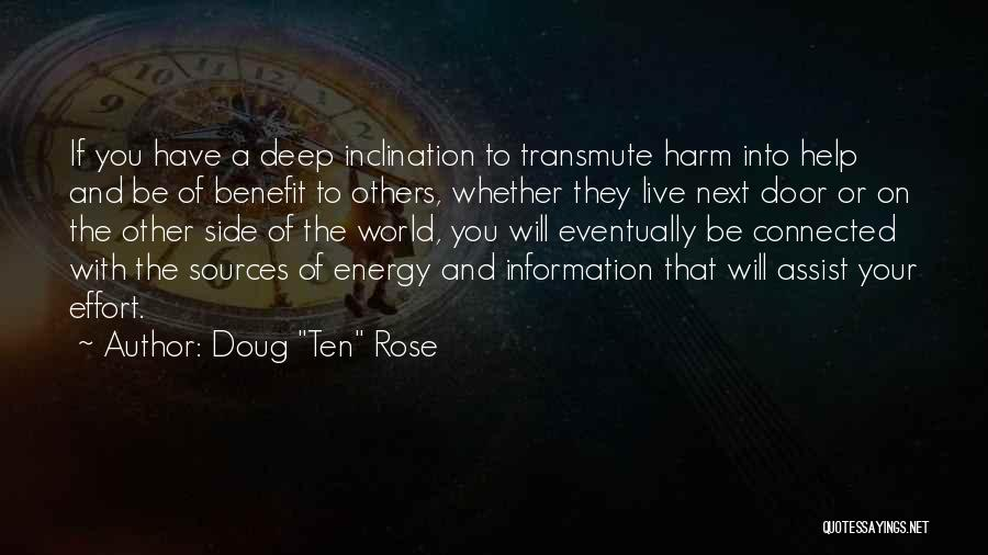 Sources Of Energy Quotes By Doug