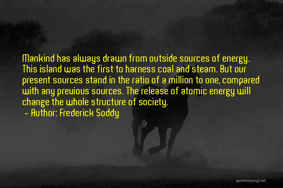 Sources Of Energy Quotes By Frederick Soddy