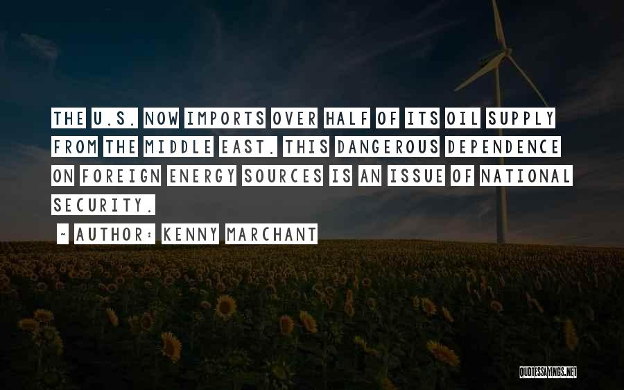 Sources Of Energy Quotes By Kenny Marchant