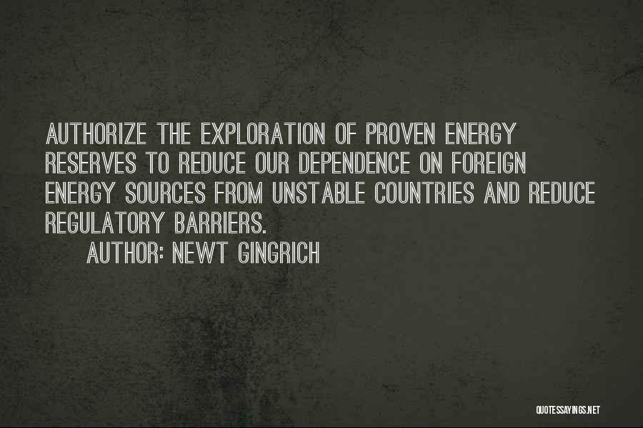 Sources Of Energy Quotes By Newt Gingrich